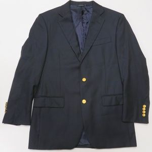 Brooks Brothers Gold Buttons Madison Saxxon Blazer